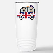 UK Pugs - Pug Taxi Travel Mug