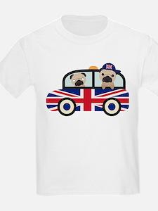UK Pugs - Pug Taxi T-Shirt