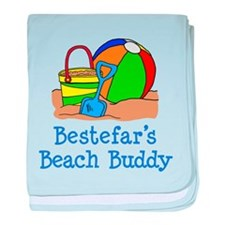 Bestefar's Beach Buddy baby blanket