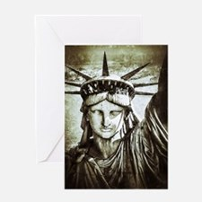 LibertyLady Greeting Card