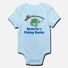 Bestefars Fishing Buddy Body Suit