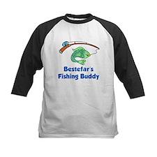 Bestefars Fishing Buddy Baseball Jersey