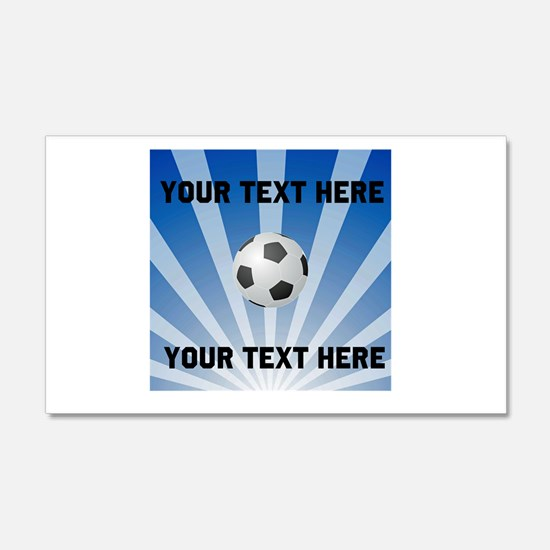 Personalized Soccer Wall Sticker