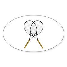 Tennis Rackets Sports Design Decal