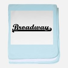 Broadway Classic Retro Design baby blanket