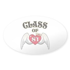 Class of '81 Decal