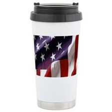 Patriotic Flag Travel Mug