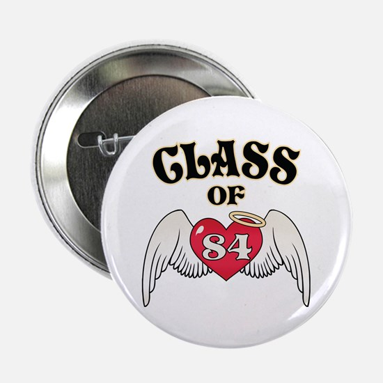 """Class of '84 2.25"""" Button (10 pack)"""