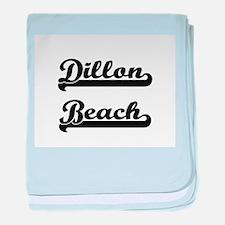 Dillon Beach Classic Retro Design baby blanket