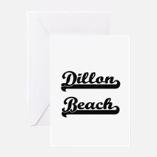 Dillon Beach Classic Retro Design Greeting Cards