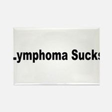 Lymphoma Sucks Rectangle Magnet