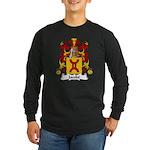 Jacobe Family Crest Long Sleeve Dark T-Shirt