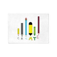 Create Art Tools 5'x7'Area Rug