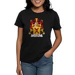 Jacobe Family Crest Women's Dark T-Shirt