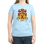 Jacobe Family Crest Women's Light T-Shirt