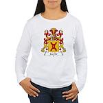 Jacobe Family Crest Women's Long Sleeve T-Shirt