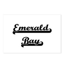 Emerald Bay Classic Retro Postcards (Package of 8)