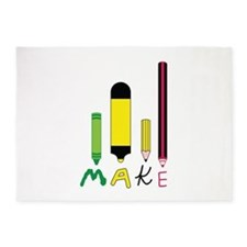 Make Art Tools 5'x7'Area Rug