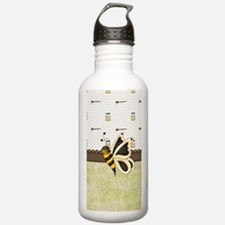Cute Bumble Bee and Ho Water Bottle