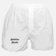 Gaviota Beach Classic Retro Design Boxer Shorts