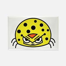 Mad Yellow Bug Magnets