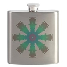 Cool Logo in red Flask