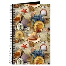 Seashells And Starfish Journal