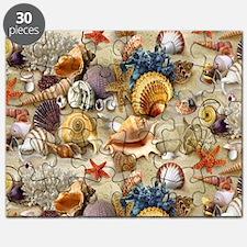 Seashells And Starfish Puzzle