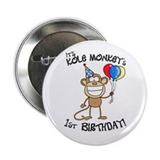 Kole's 1st bday Button