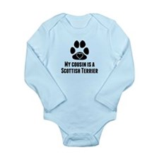 My Cousin Is A Scottish Terrier Body Suit