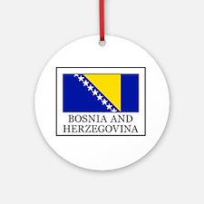 Bosnia and Herzegovina Ornament (Round)