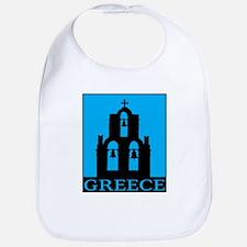 Greece Bib