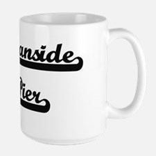 Oceanside Pier Classic Retro Design Mugs