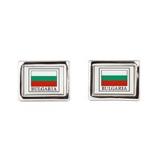 Bulgaria Rectangular Cufflinks