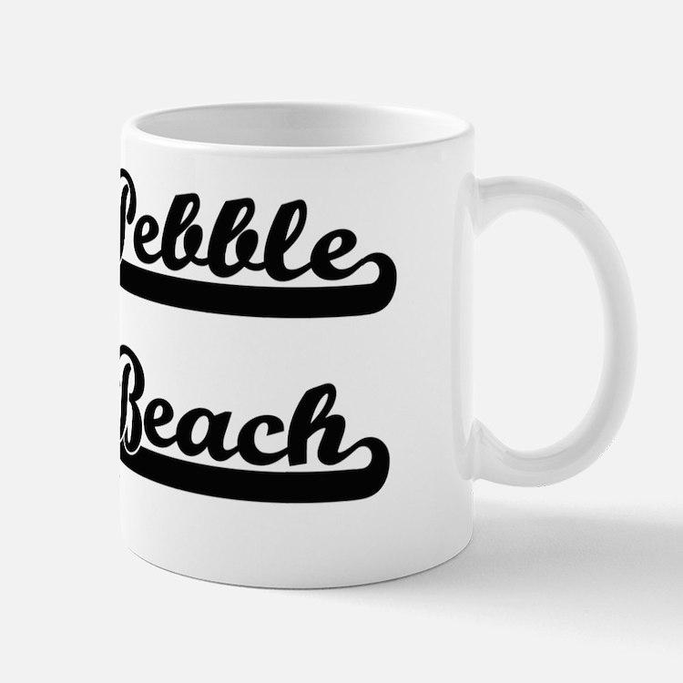 Cute Pebble beach california Mug