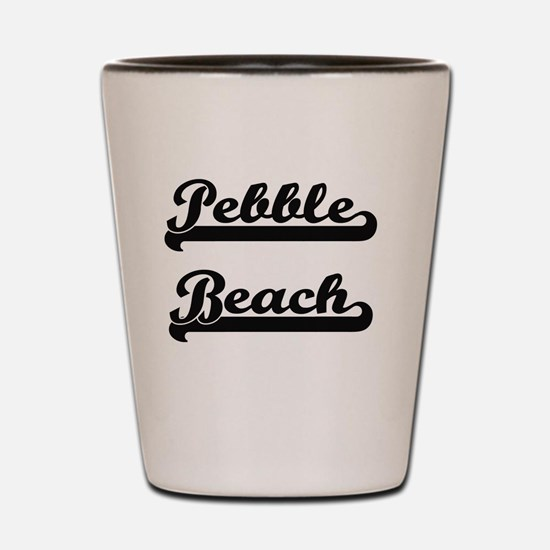 Unique Pebble beach california Shot Glass