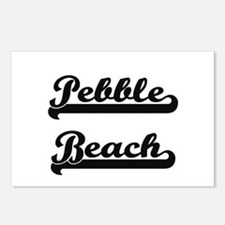 Pebble Beach Classic Retr Postcards (Package of 8)