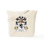 Herbert Family Crest Tote Bag