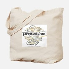 Parapsychology Wordle Tote Bag