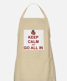 Keep Calm and Go All In-Red Apron