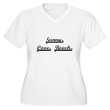Sunny Cove Beach Classic Retro D Plus Size T-Shirt
