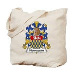 Hennequin Family Crest Tote Bag