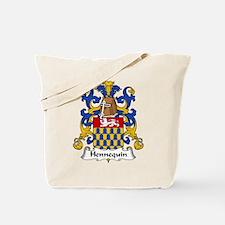 Hennequin Family Crest Tote Bag