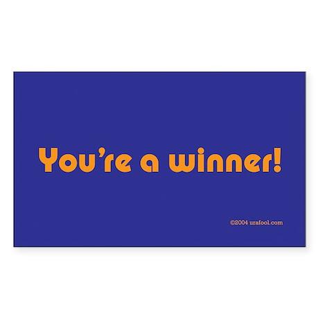 You're A Winner sticker