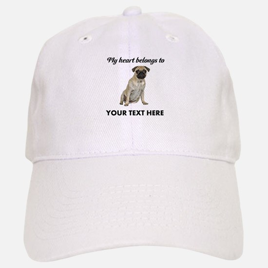 Personalized Pug Dog Baseball Baseball Cap