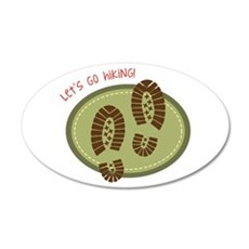 Let's Go Hiking! Wall Decal