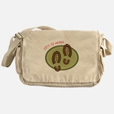 Let's Go Hiking! Messenger Bag