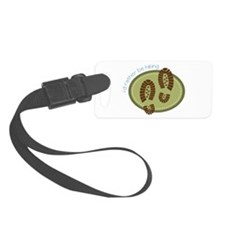 I'd Rather Be Hiking Luggage Tag