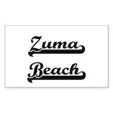 Zuma Beach Classic Retro Design Decal