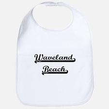 Waveland Beach Classic Retro Design Bib